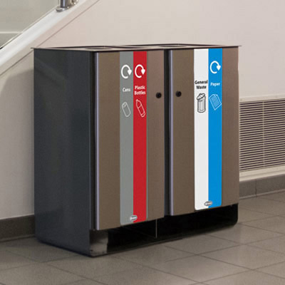 Quad Recycling Units / Recycling Stations