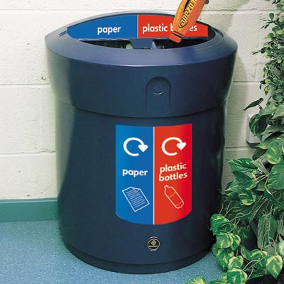 Duo Recycling Units / Recycling Stations