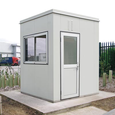 Steel Kiosks and Booths