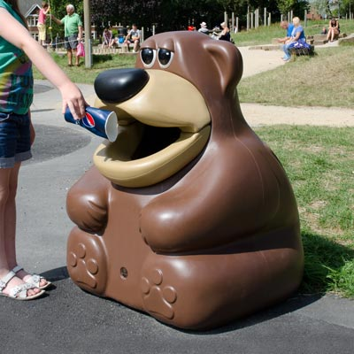 Novelty Litter Bins
