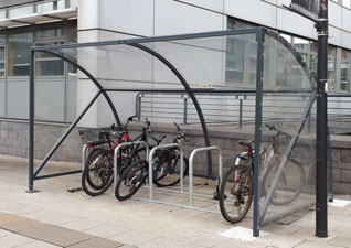 Echelon Cycle Shelter