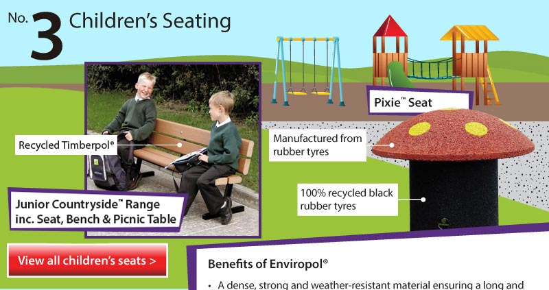 Top 5 Infographic Children's Seating Range