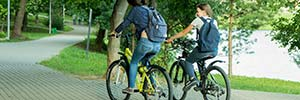Aero ™ Chosen for Cycle Friendly Campus