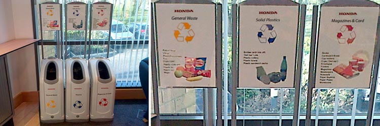 Putting Recycling into Practice at Honda