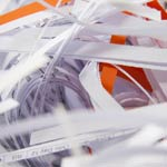 Confidential Shredded Office Paper
