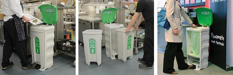 New Nexus® Shuttle Recycling Bin