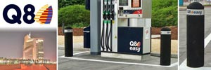Buffer™ Bollards for Q8 Oil