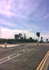 SWTRA chose the Rebound Signmaster LED Bollard