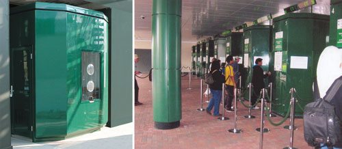 Glasdon GRP Ticket Kiosks