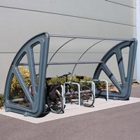 Aero™ Cycle Shelter