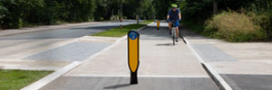 Cyclemaster™ Bollard – Leading a New Generation of Cycle Route Bollards