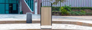 Electra™ Litter Bin gets Curved Companion