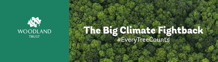 Every Tree Counts Woodland Trust Header
