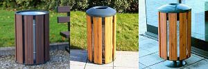Fusion™ Litter Bin Combines Style and Strength