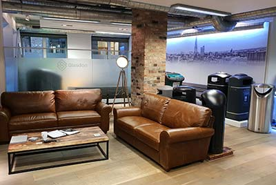Glasdon new exhibition showroom in Central London