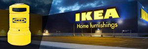 Yellow Plazas for Ikea