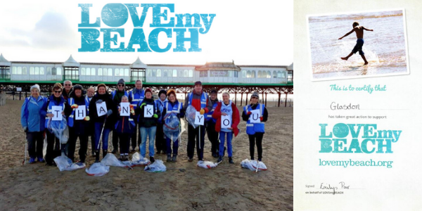 Glasdon LOVEmyBEACH Cleans