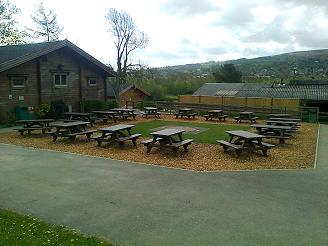 Glasdon Picnic Tables at Nell Bank, Ilkley