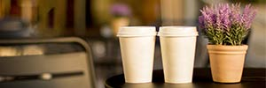 Glasdon join the CUPrising with new solutions to help boost Coffee Cup Recycling