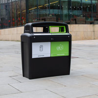 Nexus® Evolution City Duo Recycling Bin