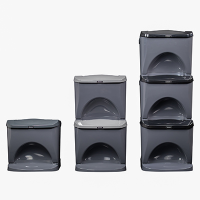 Nexus® Stack Home waste and recycling bins by Glasdon