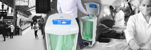 Glasdon Launch Dedicated PPE Disposal Bins