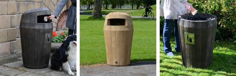 New Sherwood Litter Bin