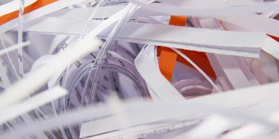 Shredding and Destruction of Confidential Paper Documents