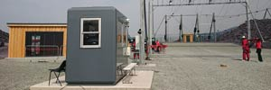 GRP Kiosk is a Constructive Solution for Zip World