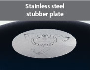 What is this? Stainless Steel Stubber Plate