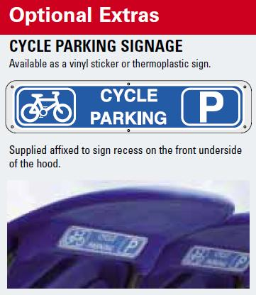 What is this? 'Cycle Parking' sign