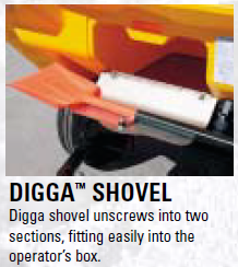 What is this? Digga™ shovel