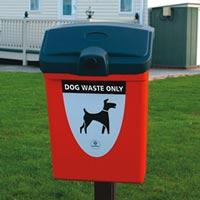 Fido 25 Glasdon Dog Waste Bin