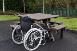 Pembridge Picnic Table with Wheelchair Access