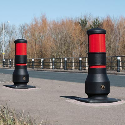 Neopolitan™ 150 600mm Bollard Compliant to Passive Safety Standard: BS EN 12767:2007