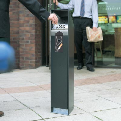 Free standing outdoor cigarette bins reasons why cigarettes should be legal