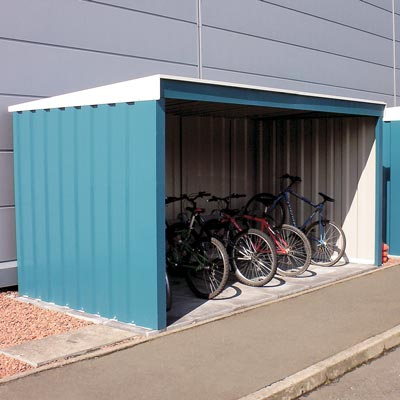 Bi-Shelter™ Cycle Shelter