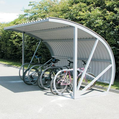 Bi-Store Cycle Shelter - 3