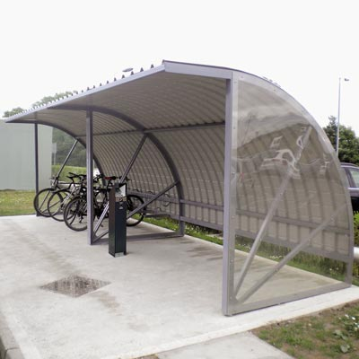 Bi-Store Cycle Shelter - 4