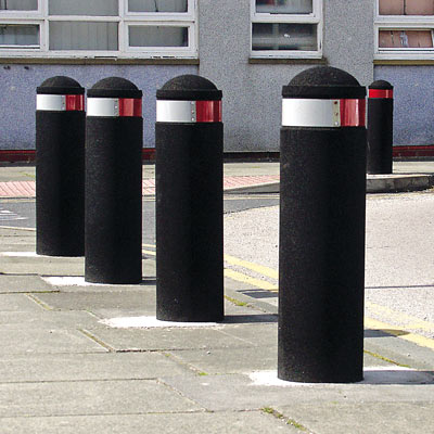 Buffer™ Bollard Made from 100% Recycled Rubber