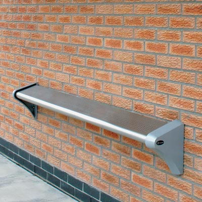 Carleton perch seat 1800mm in Stainless Steel