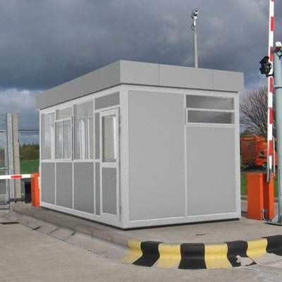 Glasdon Consul Modular Building System available in 11 standard sizes