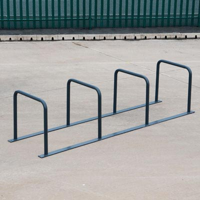 Cycle Toast Rack Stands Secure Parking for 8 or 10 Bicycles