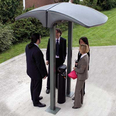 Eclipse™ Back-to-Back Smokers' Canopy