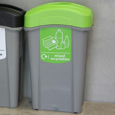 Eco Nexus® 85 Mixed Recyclables Recycling Bin