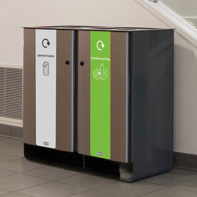 Electra™ Recycling Bins