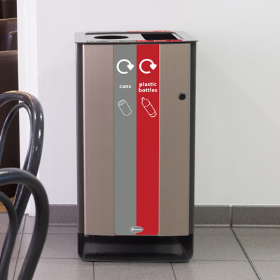Electra™ 85 Duo Recycling Bin