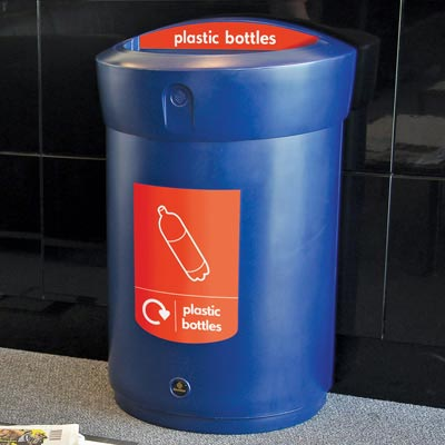 Envoy™ Plastic Bottle Recycling Bin - 110 Ltr