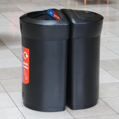 Envoy 110L Back-to-Back Recycling Station