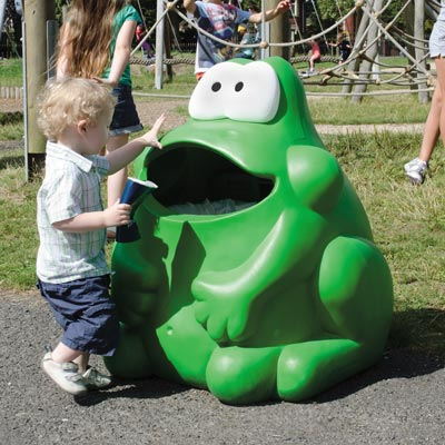 Froggo™ Novelty Litter Bin Ideal for Schools and Classrooms